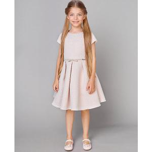 Нарядное платье Choupette. Цвет: блекло-розовый