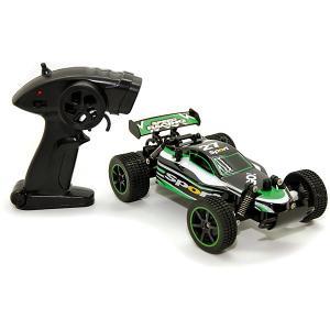 Машина на радиоуправлении  Багги 1:20, черно-зеленая Balbi. Цвет: разноцветный