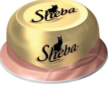 Влажный корм  для взрослых кошек, ассорти из сочного мяса курицы с уткой, 80г Sheba