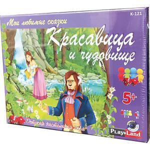 Настольная игра  Красавица и чудовище Play Land