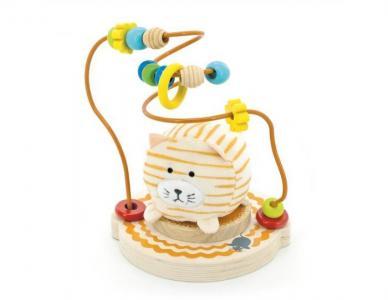 Деревянная игрушка  Лабиринт Мурлыка Мир деревянных игрушек