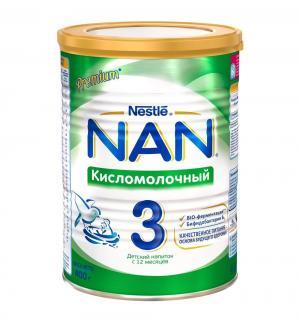 Молочная смесь  3 кисломолочная с 12 месяцев, 400 г Nan