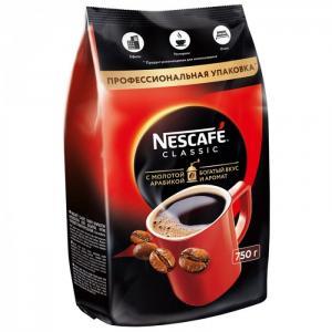 Кофе растворимый с молотым Classic 750 г Nescafe