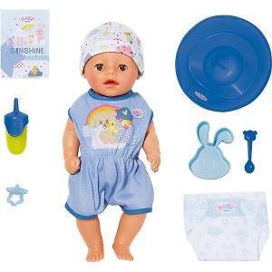 Интерактивная кукла  My Little Baby Born Нежное прикосновение Мальчик, 36 см Zapf Creation