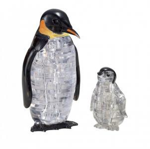 3D головоломка Пингвины (43 детали) Crystal Puzzle