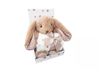 Плед  Набор с игрушкой Bunny Uviton