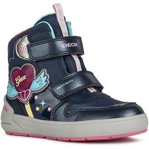 Ботинки Geox. Цвет: pink/blau