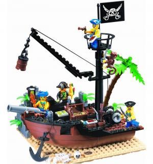 Конструктор  Разбитый корабль (178 дет) Brick