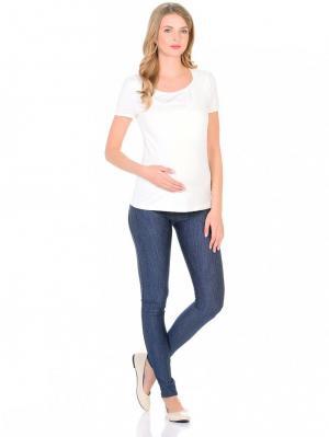 Леггинсы  под джинсу, цвет: темно-синий 40 Недель