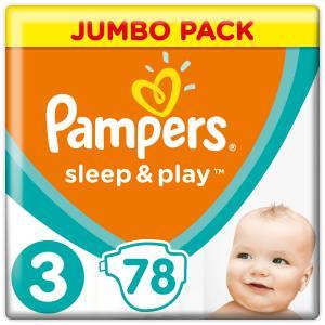 Подгузники  Sleep&Play (6-10 кг) шт. Pampers