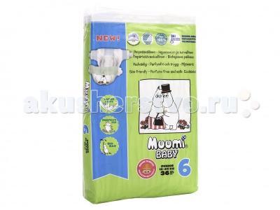 Подгузники Baby (12-24 кг) 36 шт. Muumi