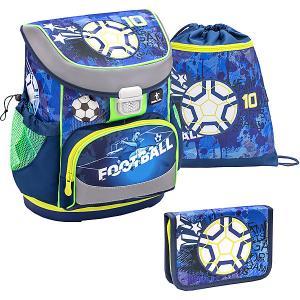 Ранец  Mini-Fit Soccer Sport, с наполнением Belmil. Цвет: темно-синий деним