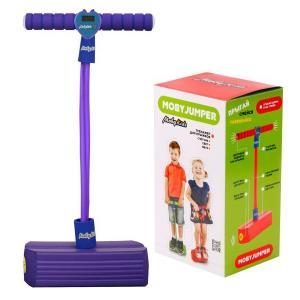 Тренажер для прыжков  Моби Джампер фиолетовый Moby Kids