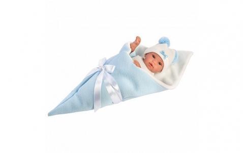 Кукла в голубом конверте 36 см Llorens